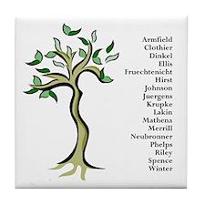 Paula's Personalized Tile Coaster