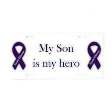 Son CF Hero Aluminum License Plate