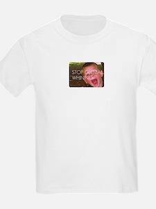 Stop Globla Whining T-Shirt