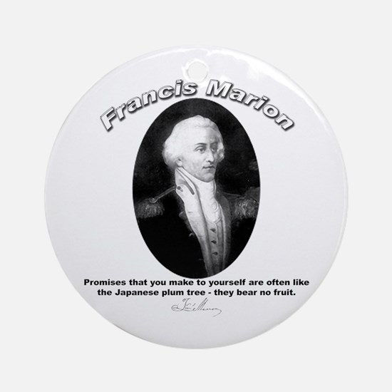 Francis Marion 01 Ornament (Round)