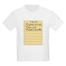 FUNNY BABY TO DO LIST T-Shirt