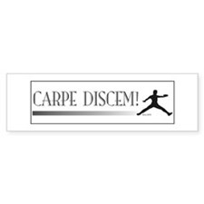 CarpeDiscem Bumper Bumper Sticker