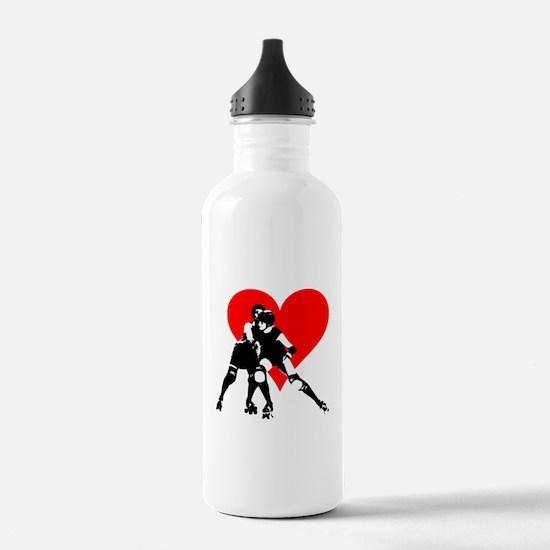 Unique Roller derby Water Bottle