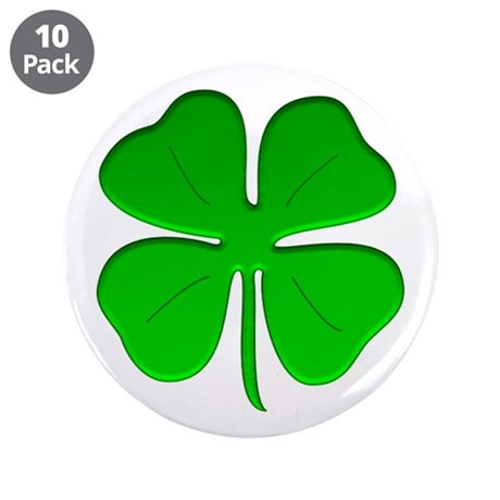 "St. Patrick Day/Irish Pride 3.5"" Button (10 pack)"
