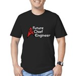 Future Chief Engineer Men's Fitted T-Shirt (dark)