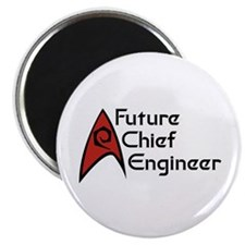 """Future Chief Engineer 2.25"""" Magnet (10 pack)"""