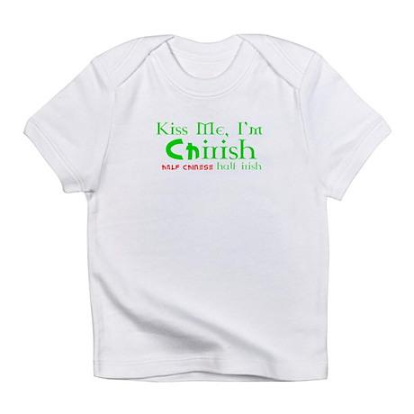 Kiss Me I'm Chirish Half Chinese/Half Irish Infant