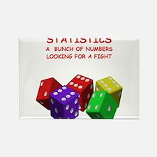 statistics joke Rectangle Magnet