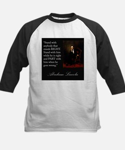 Abraham Lincoln Quote Tee