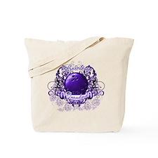 Bowling Grandma (Purple) Tote Bag