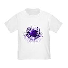 Bowling Grandma (Purple) T