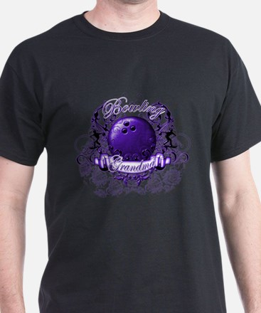 Bowling Grandma (Purple) T-Shirt