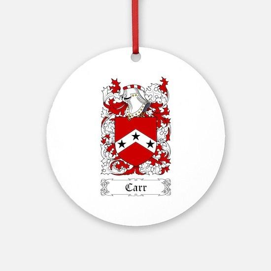 Carr Ornament (Round)