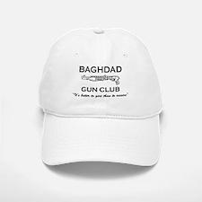 "SharpTee's ""Baghdad Gun Club"" Baseball Baseball Cap"