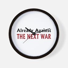 Next War Wall Clock