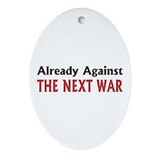 Next War Oval Ornament
