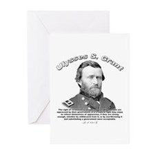 Ulysses S. Grant 02 Greeting Cards (Pk of 10)
