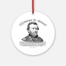 Ulysses S. Grant 02 Ornament (Round)