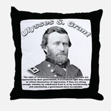 Ulysses S. Grant 02 Throw Pillow
