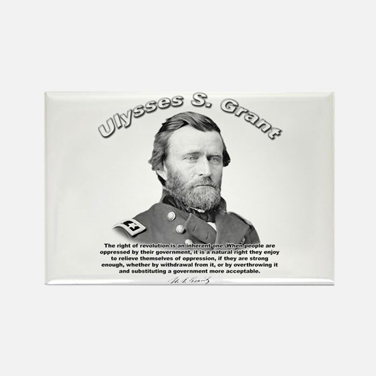 Ulysses S. Grant 02 Rectangle Magnet