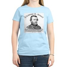 Ulysses S. Grant 02 Women's Pink T-Shirt