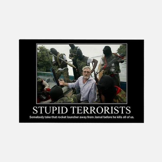DeMotivational - Stupid Terrorists - Magnet