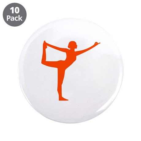 """Yoga 3.5"""" Button (10 pack)"""