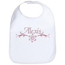 Alexis Floral Filagree Bib