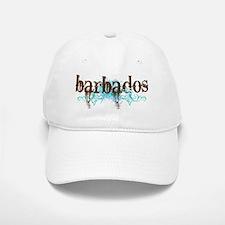 Barbados Grunge Baseball Baseball Cap