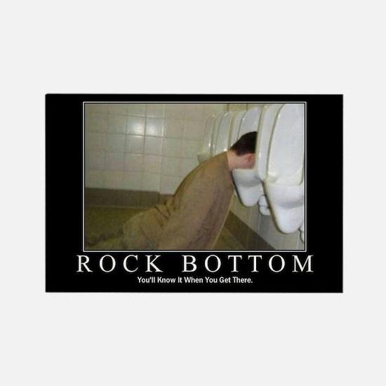 DeMotivational - Rock Bottom - Magnet