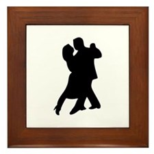 Dancing Framed Tile