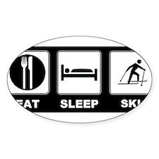 Eat Sleep Ski Decal