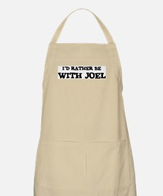 With Joel BBQ Apron