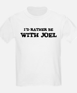 With Joel Kids T-Shirt