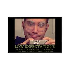 DeMotivational - Low Expectations - Magnet