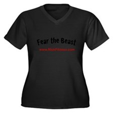 Fear The Beast Exclusive Nick Women's Plus Size V-