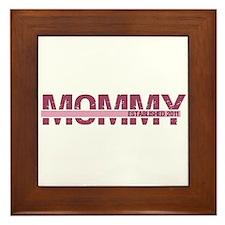 Mommy Established 2011 Framed Tile