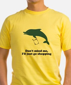 Dolphins Plastic Bags Shirt F T