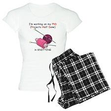Knitting PhD (projects half d pajamas