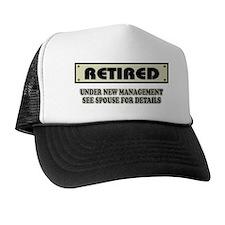 Retired, Under New Management Hat