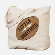 Little Brother Football Tote Bag