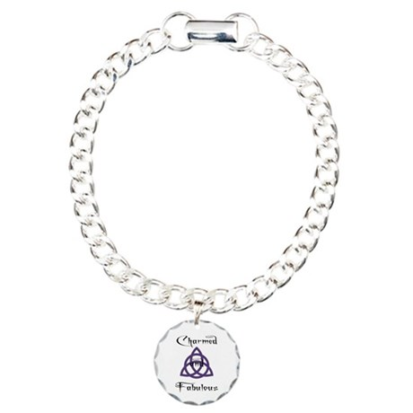 Charmed and Fabulous Triquetr Charm Bracelet, One