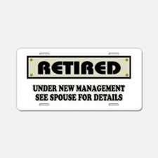 Funny Retirement Gift, Reti Aluminum License Plate