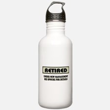 Funny Retirement Gift, Water Bottle