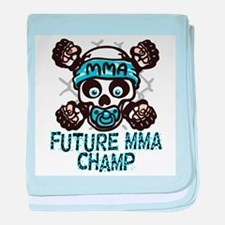 Future MMA Champ baby blanket