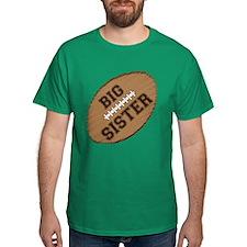 Big Sister Football T-Shirt
