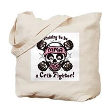 MMA Crib Fighter Tote Bag