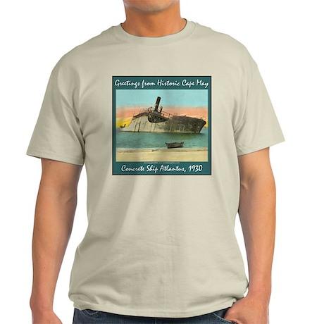 Concrete Ship Atlantus Ash Grey T-Shirt