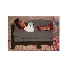 Sofa Rectangle Magnet