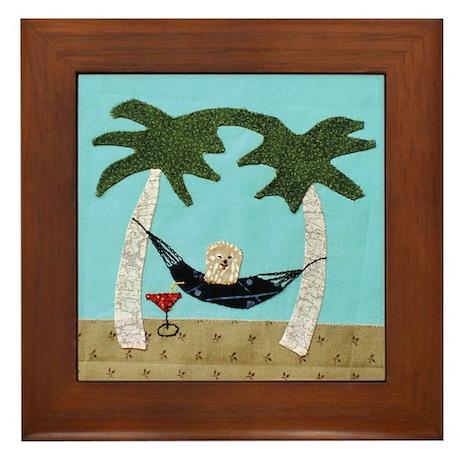 Hammock Framed Tile